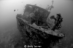 Wreck of a supply ship in Fiji. by Andy Lerner 